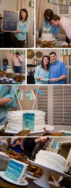 adorable & casual gender reveal party