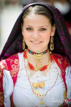 Sardinian folk costume