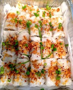 Home Cooking with Thuy: Bánh Cuốn - Rice Sheet Rolls
