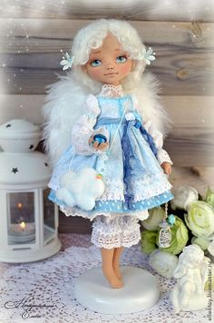 Авторская кукла Елены Негороженко