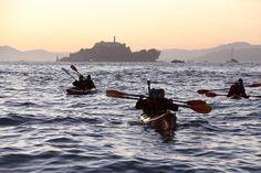 Kayaking on the bay!