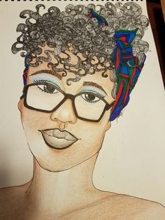 Finished with Headscarf Beauty