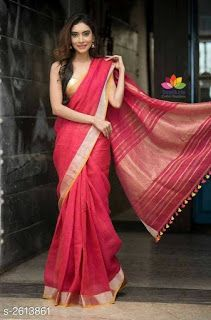 Pure Linen saree : free COD WhatsApp You are in the right place about Saree Styles with jacket Here we offer you the most beautiful pictures about the Saree Styles yellow you are looking for. When you examine the Pure Linen saree : free COD WhatsApp Saree Draping Styles, Saree Styles, Saris, Indian Beauty Saree, Indian Sarees, Ethnic Sarees, Saree Poses, Indian Attire, Indian Wear