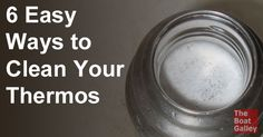 So your Thermos needs more than just a swish of soapy water with a bottle brush. How to clean way down in there? Here are six techniques: