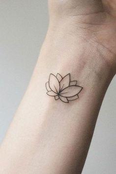 53 Best Lotus Flower Tattoo Ideas To Express Yourself Flower Tatt. - 53 Best Lotus Flower Tattoo Ideas To Express Yourself Flower Tattoo Designs - Lotus Tattoo Design, Small Lotus Tattoo, Delicate Flower Tattoo, Lotus Design, Small Flower Tattoos, Flower Tattoo Arm, Flower Tattoo Shoulder, Flower Tattoo Designs, Small Tattoos