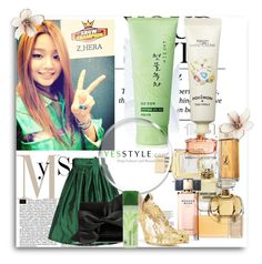 """Oscar"" by haliima ❤ liked on Polyvore featuring Hera, Kwailnara, Tony Moly, Oscar de la Renta, Victoria Beckham, Innisfree, Pussycat, Beauty, korean and yesstyle"