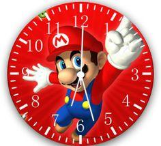 """New Super Mario wall Clock 10"""""""