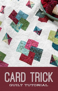 Watch and learn with Jenny as she creates the Card Trick