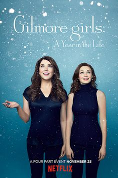 Netflix zeigt mit 4 neuen Postern, wie das Gilmore Girls-Comeback aussieht #refinery29  http://www.refinery29.de/2016/10/126736/gilmore-girls-seasonal-poster