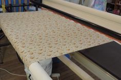 """How to load a quilt by """"fully floating"""" your quilt top"""