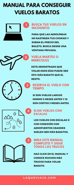 Manual para conseguir Vuelos Baratos - Negócios e Carreiras - Travel Blog, Travel Info, Travel Advice, Travel Quotes, Travelling Tips, Packing Tips For Travel, Places To Travel, Travel Destinations, Low Cost Flights