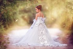 """""""Queen Of The Day""""... An Unforgettable Mini Bride Gown"""