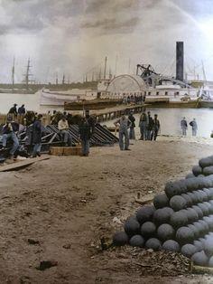 April 5 1862 Siege of Yorktown Va begins Naval History, Us History, Military History, American Civil War, American History, Old Photos, Vintage Photos, Siege Of Petersburg, Siege Of Yorktown