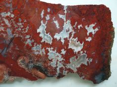 Check out this item in my Etsy shop https://www.etsy.com/listing/227650777/red-plume-agate-from-arizona-brenda-area