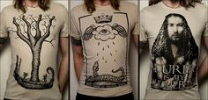 New t-shirt designs inspired by Albrecht Dürer