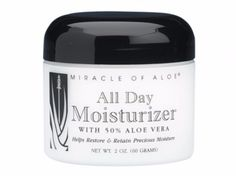 Rich moisturizer penetrates deep to nourish and protect skin all day long. Restores your natural moisture balance. Helps keep skin smooth, soft and younger looking.