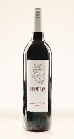 Boomtown Wine Label Cool Packaging, Beverage Packaging, Bottle Packaging, Packaging Design, Whiskey Label, Whiskey Bottle, Wine Tags, Wine Labels, Letter Form
