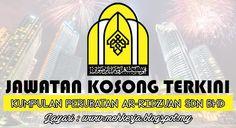 Jawatan Kosong di Kumpulan Perubatan Ar-Ridzuan Sdn Bhd - 16 Sept 2016   Permohonan adalah dipelawa daripada Warganegara Malaysia yang berumur 18 tahun ke atas dari tarikh iklan dan yang berkelayakan untuk mengisi jawatan kosong seperti berikut di Kumpulan Perubatan Ar-Ridzuan Sdn Bhd.  Jawatan Kosong Terkini 2016diKumpulan Perubatan Ar-Ridzuan Sdn Bhd  Positions:  1.MEDICAL OFFICER / SPECIALIST2. MARKETING EXECUTIVE  Closing date :16 September 2016  Klik Job Requirement And Job Description…
