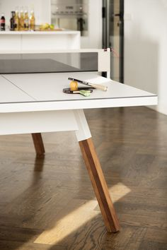 Dining Table & Ping Pong Table in One on Behance