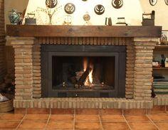 Risultati immagini per chimenea rustica Fireplace Design, Fireplace Mantels, Foyers, Salon Simple, Smokehouse, San Clemente, Electric Fireplace, Cabana, Home Projects
