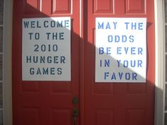 Seduced By A Book: How To Throw a Hunger Games Party (Page has tips on a good invitation)