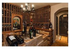 Real Estate Listings & Homes for Sale Cellar Ideas, Home Wine Cellars, Fine Wine, Wines, Liquor Cabinet, House Plans, Bottles, How To Memorize Things, Real Estate