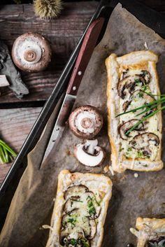 Pilz Tartelettes - Das Küchengeflüster