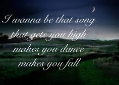 Brett Eldredge ~Wanna be that song~
