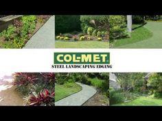Col Met 8 Ft Green Powder Coat Landscape Edging Section 400 x 300