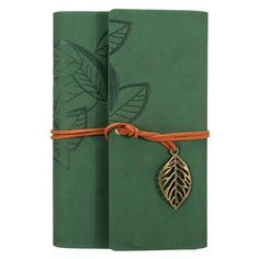 Sketchbook Stationery Agenda Vintage Notebook Leaf Leather Cover Loose Journal Travel Notepad Personalized Gift for Friends