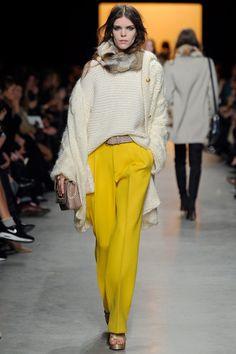 Paul & Joe - Pantalon ample jaune canari