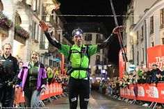 Dawa Sherpa at the finish line of the #TDS2012 © The North Face® Ultra-Trail du Mont-Blanc® - Franck Oddoux