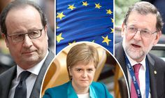 """""""very clear Scotland does not have the competence to negotiate with the European Union""""  Scotland should only be called incompetent when Spain has a government of its own."""