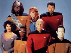 Star Trek The Next Generation Crew, free Star Trek computer desktop wallpaper