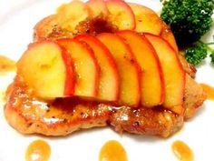 ポークソテー♡りんごと生姜のソースの画像