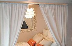 Make A Canopy Bed From Curtain Hardware — Ikea Hackers