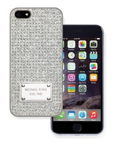 MICHAEL KORS Pave-Embellished Phone Case, MICHAEL KORS / iPhone 6 BEST BUY #STCLuxeGuide #Toronto #Fashion #Holiday
