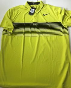 05590574 New Nike Golf Mobility Speed Stripe Shirt Golf Polo Shirt 833099-358 2XL  XXL $70