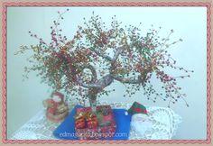Manual Arts: Tutorial finished Bonsai Sweet Christmas