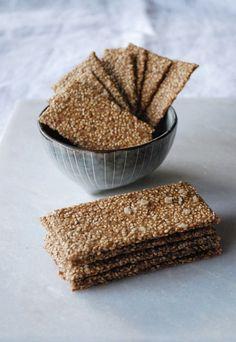 Healthy Baking, Healthy Snacks, Delicious Vegan Recipes, Tasty, Low Carb Bread, Greens Recipe, Diy Food, Bread Baking, Pain