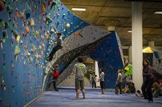LA Boulders - gettin' more press! The largest bouldering gym in Los Angeles is HERE!