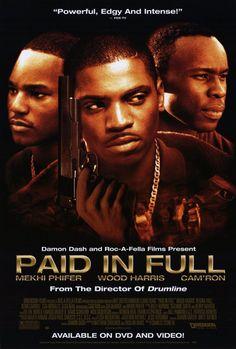 Paid in Full Movie | Paid in Full Movie Poster 27x40 Wood Harris Mekhi Phifer Kevin Carroll ...