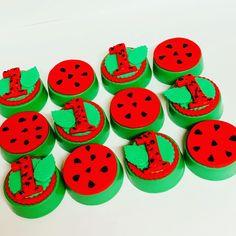 Watermelon Birthday, One In A Melon, 1st Birthdays, Love Bugs, Oreos, Fruit, Cake, Party, Desserts