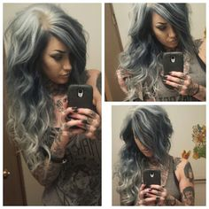 Ooh love the colour and the stylle.. hope my hair will look like that when it's longer.