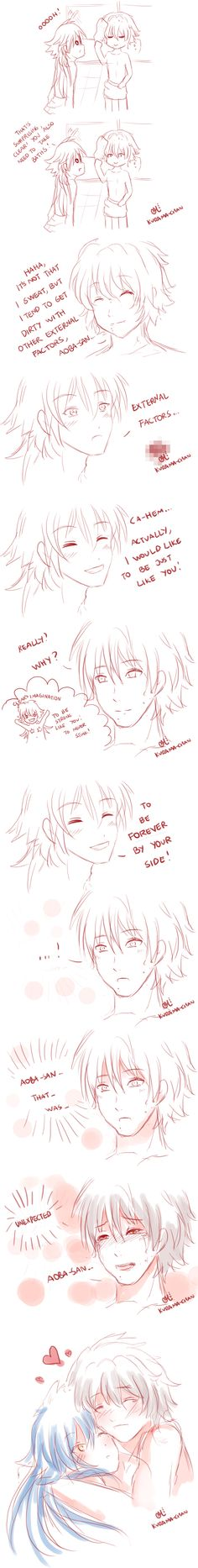 -- DMMD comic: Clear's body -- by Kurama-chan on DeviantArt