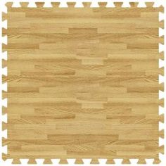 Groovy Mats Light Oak 24 in. x 24 in. Comfortableable Wood Grain Mat (100 sq.ft. / Case)-GYCWGMLO at The Home Depot