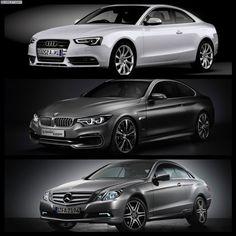 BMW Series 4 Coupe vs. Audi A5 vs. Mercedes-Benz C Class Coupe