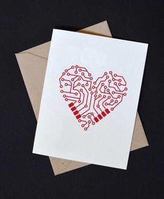 Quer entrar no clima de São Valentim? Selecionamos cartões para os nerds apaixonados encomendarem para o dia nos namorados em 1...