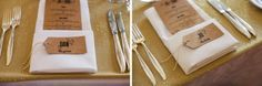 Our Silver Plated Cutlery for Jo and Dan's vintage wedding. Mission Estate Winery.