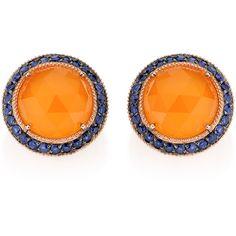 Carla Amorim Mango Earring ❤ liked on Polyvore